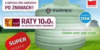 RATY! Zbiornik SWIMER AGRO TANK 22 000L